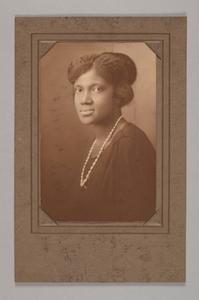 Albumen print of an unidentified woman