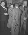 Jackson, Perry 1956 with President and Mrs. Dwight Eisenhower