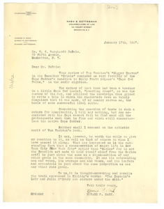 Thumbnail for Letter from Howard P. Nash to Editor of the Crisis