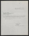 State Supervisor of Elementary Education; Correspondence, Conferences, Miscellaneous, 1952