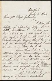 Letter to] Sir [manuscript