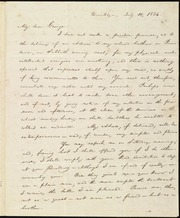 Letter to] My dear George [manuscript