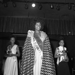 Miss Black America Beauty Pageant winners posing together, Atlantic City, 1972