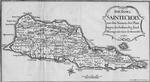 Die insel Saintecroix mit den Namen der Plan tagen die bestaendig sind. Plantage mit einer Zuckermuhle. 1767