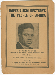 Imperialism Destroys the People of Africa
