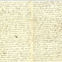 Autograph letter signed : Baton Rouge, La., to [John Rogers, Roxbury, Mass.?].