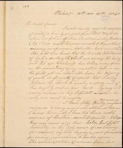Letter from Esther Moore, Philad[elphia, Pennsylvania], to William Lloyd Garrison, 1840 [November] 15th