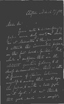 Letter to S. P. Chase