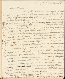 Letter from Elizur Timothy Washburn, [Hartford, Connecticut], to Amos Augustus Phelps, [1828] March 16
