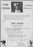 The Crisis : A monthly magazine