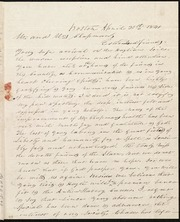 Letter to] Mr. and Mrs. Chapman [manuscript