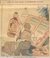 Cartoon Attacking Gov. Faubus for the 1957 Crisis