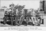 Our theological students at Greensboro, February, 1926