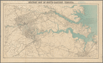 Military map of south-eastern Virginia