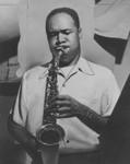 Buddy Collette plays his sax