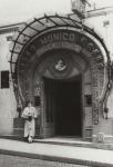 "Ada ""Bricktop"" Smith outside Brick Top's, in the old Monico nightclub, in Paris"