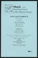 BGSU Jazz Combos II