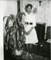 Annette Smith White about age sixteen in Baltimore where she was working as a magazine subscription sales person.