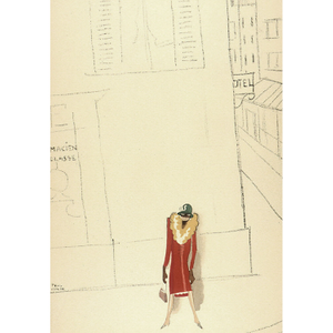 Thumbnail for Le Tumulte Noir/Woman on Street Corner