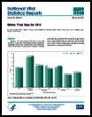 National vital statistics reports : births : final data for 2013, volume 64, number 1, January 15, 2015