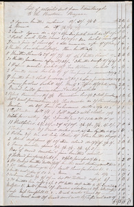 Letter from Eliza Wigham, Edinburgh, [Scotland], to Maria Weston Chapman, Nov'r 4th, 1846