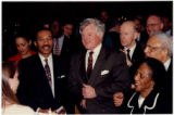 Kweisi Mfume and Ted Kennedy