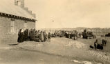 Dedication of chapel at Hunters Point, 1927
