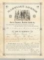 Marriage License of Preston Taylor and Georgia Gordon