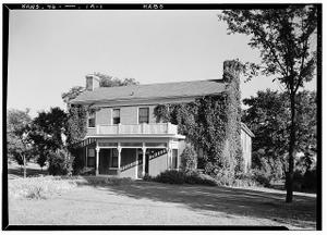 Shawnee Methodist Mission, West Building, Kansas City, Wyandotte County, KS