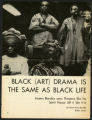 Black (Art) Drama is the Same as Black Life