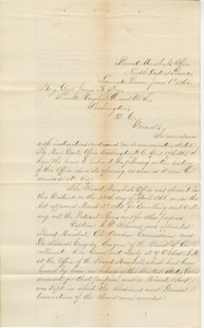 Historical Report of the Provost Marshal General for the Eastern Division of Pennsylvania, 9th Congressional District