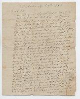 Eliphalet Dyer letter to John Lawrence, 1786 April 7