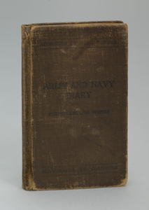 Army and Navy Diary Including French-English Words