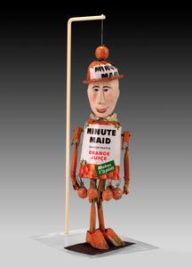 """MINUTE MAID"" Articulated Figure"