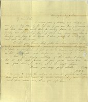 Letter from Charlotte to Samuel Cowles, 1839 May 9.