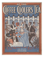 At the coffee cooler's tea : novelty jazz song / by Alex Sullivan and Harry de Costa