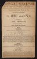 Chicago Opera House, Herrmann (March 29, 1891) Herrmann; New black art; Strobeika