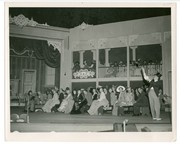 """1947 Muny production of """"Show Boat"""": melodrama scene from Act 1"""