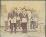 Group of men, unidentified