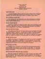 Project Head Start, information sheet, circa 1967