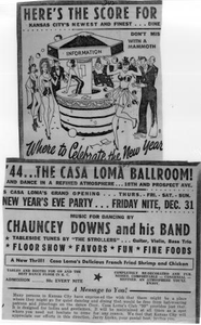 Casa Loma Ballroom Advertisement