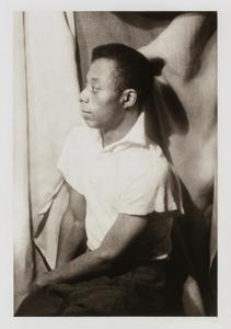 James Baldwin, from the portfolio 'O, Write My Name': American Portraits, Harlem Heroes