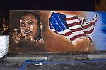 MLK Jr., Restaurant Paseo San Miguel, Salvadorian Cuisine, 1560 West Martin Luther King Blvd. at La Salle St., Los Angeles, 2016