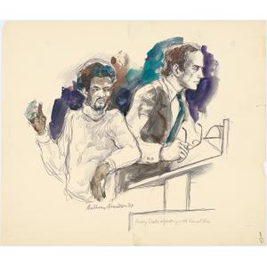 Bobby Seale (with William Kunstler)
