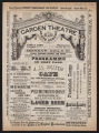 Garden Theatre, Various acts (August 8, 1881) Various acts