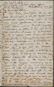 Letter from James Miller M'Kim, Philadelphia, [Pennsylvania], to Mary Anne Estlin, 1853 Oct[ober] 18