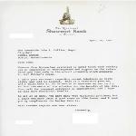 Letter to Mayor John F. Collins