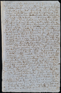 Letter from Richard Davis Webb, Dublin, [Ireland], to Anne Warren Weston, November 1, 1850