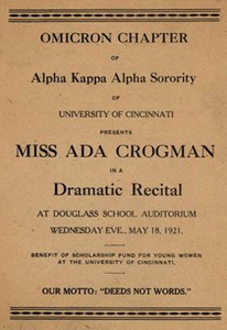 Drama Recital Program