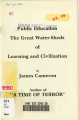 Public Education: The Great Water-Sheds of Learning and Civilization